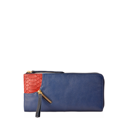 Gemini W2 Sb(Rfid) Women's Wallet, Andora Snake,  midnight blue