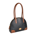 Saturn 03 Sb Women s Handbag, Croco Melbourne Ranch,  black