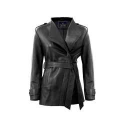 Bianca Women's Jacket Polished Lamb, s,  black