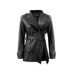 Bianca Women's Jacket Polished Lamb,  black, s