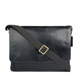Aiden 01 Messenger bag, regular,  black