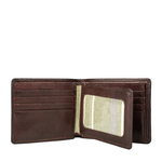 Indigo Mw1 E. I Men s Wallet, E. I. Goat Veg,  brown