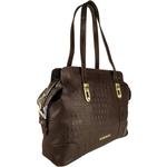 Harajuku 01 Women s Handbag, Baby Croco Melbourne,  brown