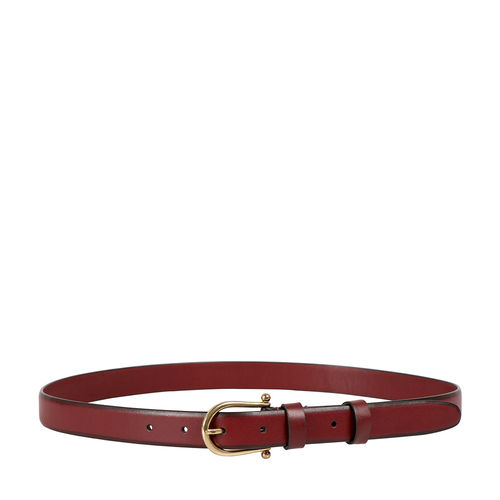 Mikasa Women s Belt Melbourne Ranch,  marsala
