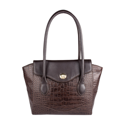 Sb Gisele 01 Women's Handbag, Croco Melbourne Ranch,  brown