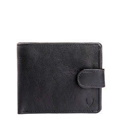 38 Men's wallet,  black, roma