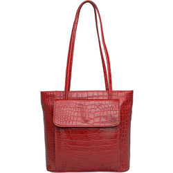 Tovah 4310 Handbag, croco,  red