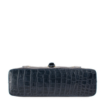Mercury 01 Sb Women s Handbag Croco,  midnight blue