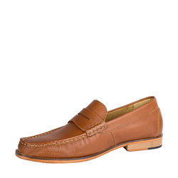 Andrew Men's Shoes, Soweto Goat Lining, 9,  tan
