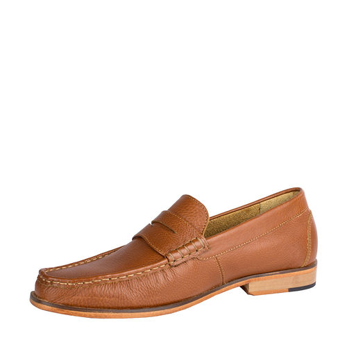 Andrew Men s Shoes, Soweto Goat Lining, 7,  tan