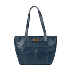 Ee Misha 02 Women's Handbag Lizard,  midnight blue