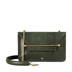 Delilah 01 Women's Handbag Snake,  green