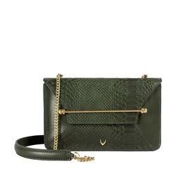 Delilah 01 Women's Handbag Snake,  green