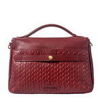 Cavendish 04 Women s Handbag, Woven Melbourne Ranch,  marsala