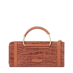AFFAIR W2 RF WOMENS WALLET CROCO,  tan