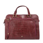 Biscotte 02 Women s Handbag, Croco Melbourne Ranch,  red