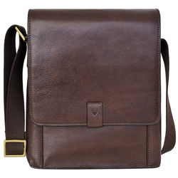 Aiden 02 Crossbody, ranchero,  brown