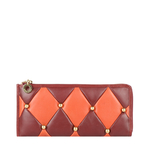 FLAPPER GIRL W1 (RFID) WOMEN S WALLET LAMB,  marsala