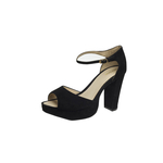 Marilyn Women s Shoes, Suede, 37,  black