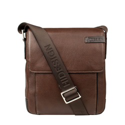 Travolta 03 Men's Cross Body, New Siberia Regular Split,  brown