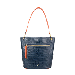 EE JUPITER 01 WOMENS HANDBAG CROCO,  midnight blue
