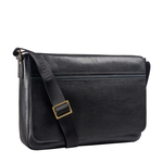 Sigmund 01 Messenger Bag, Regular,  black