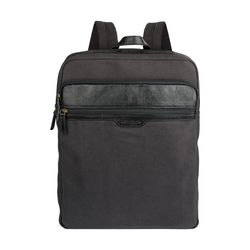 Viking 02 Men's Back Pack, Canvas E. I Goat,  black