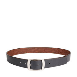 Lucas Men's belt, Ranch Croco, 34-36,  black