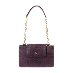 Aquarius 01 Sb Women's Handbag Snake,  aubergine