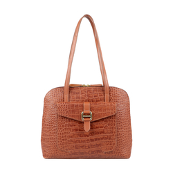 LOTUS 03 SB WOMENS HANDBAG CROCO,  tan