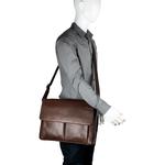 Travolta 01 Messenger bag,  brown