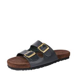 Tom Men's Shoes, Dakota Black Split Suede Brown, 7,  black