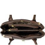 Tabit 01 Women s Handbag, Lizard Melbourne Ranch,  brown