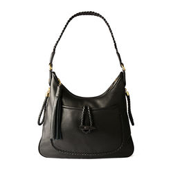 Sterlet Handbag,  black, deer