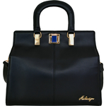 Earley 03 Satchel,  black, ranch