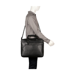 PHAETON 01 BRIEFCASE REGULAR,  black