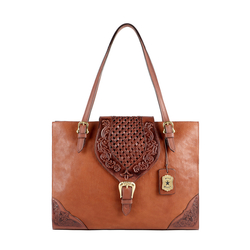 BELLE STAR 01 WOMENS HANDBAG KALAHARI,  tan
