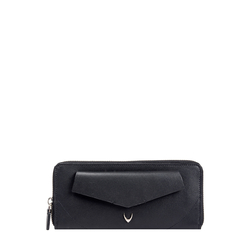 Hidesign X Kalki Evolve W1 (Rfid) Women's Wallet, Dakota Mel Ranch,  black