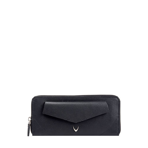Hidesign X Kalki Evolve W1 (Rfid) Women s Wallet, Dakota Mel Ranch,  black