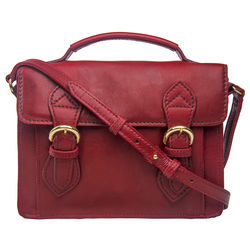 Chione 02 Handbag,  dark red