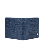 36-02 SB MENS WALLET CROCO,  midnight blue