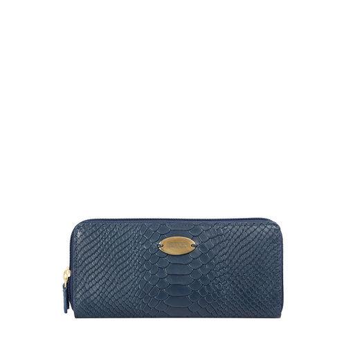 Angara W3 (Rfid) Sb Women s Wallet, Snake,  midnight blue