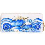 St Tropez W2 Women s Wallet, Cowdeer Ranch,  white