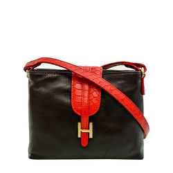 SB Silvia 03 Women's Handbag Snake,  red