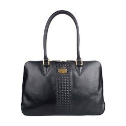 Treccia 02 Women's Handbag, Soho,  black