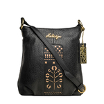 Carina 03 Crossbody,  black, pebble