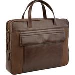 Beatty 01 Laptop bag, khyber,  brown