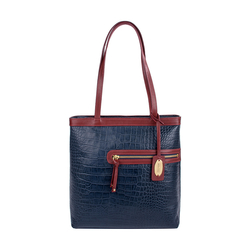 Tokyo 01 Sb Women's Handbag, Croco Melbourne Ranch,  midnight blue