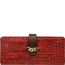 Sb Atria W1 (Rfid) Women's Wallet, Cro,  red