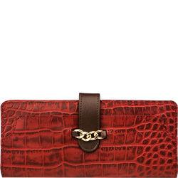 Sb Atria W1 (Rfid) Women's Wallet, Cro,  red